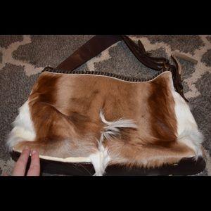 Handbags - faux animal skin purse